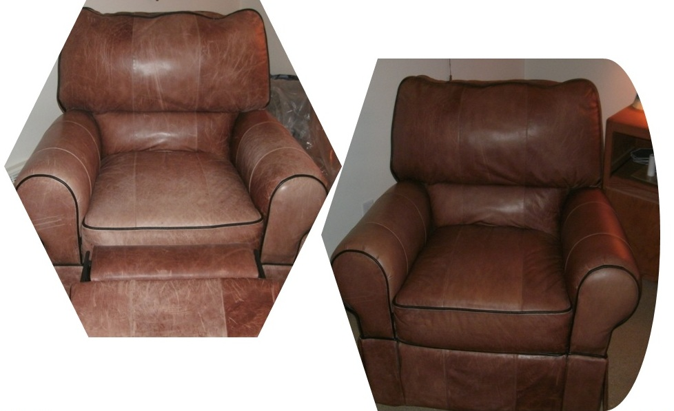 Cleaning Leather Chairs Total Apparel Care Denver Leather Furniture  Restoration Before .