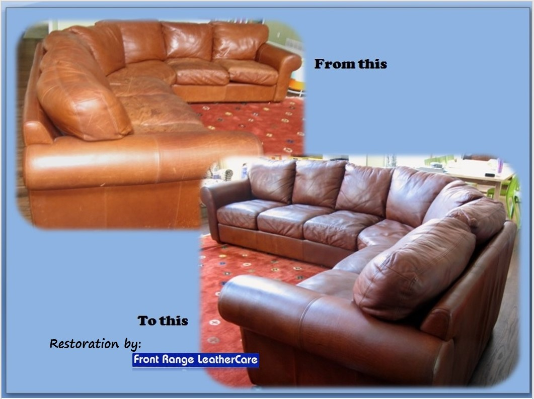 ... Leather Sofa Sectional Full Service Leather Restoration ...