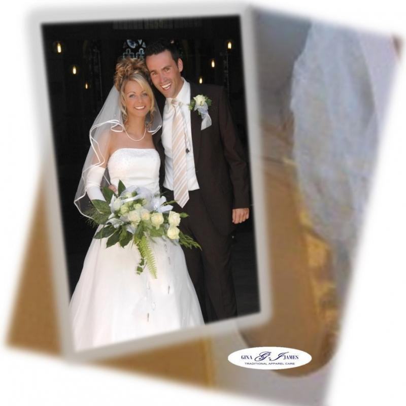 Wedding Gown Preservation Co: Gina-James Bridal Gown Cleaning And