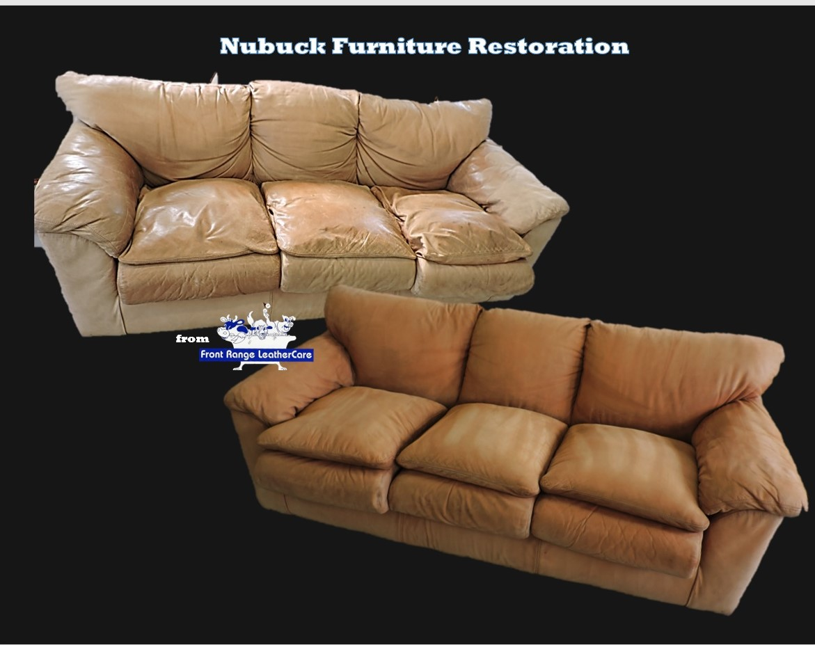 Nu Buck Leather Restoration Only By Front Range Leathercare